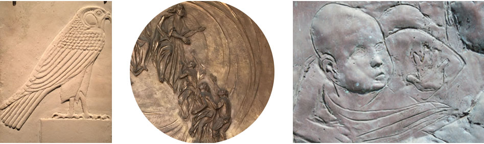 7 Day Sculpture workshop: Bas Relief-2020 : CourseCode B001